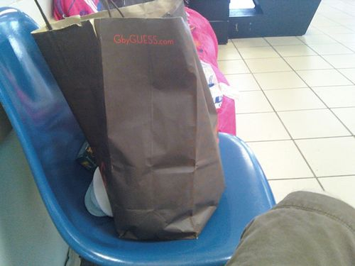 Bag-on-chair